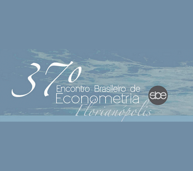 37º Encontro Brasileiro de Econometria