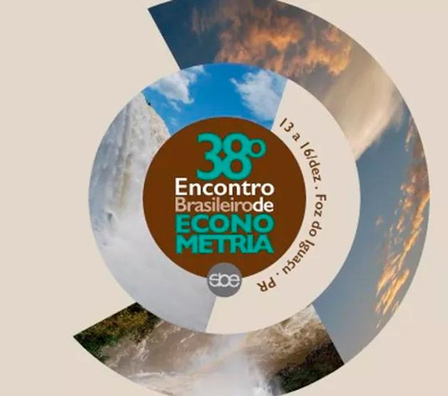 38º Encontro Brasileiro de Econometria