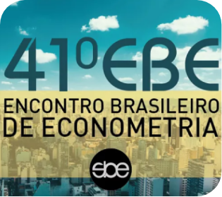 41º Encontro Brasileiro de Econometria