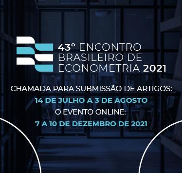 43º Meeting of the Brazilian Econometric Society